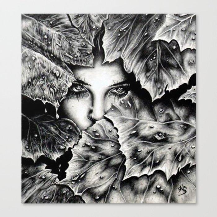Veiled Shadow Canvas Print
