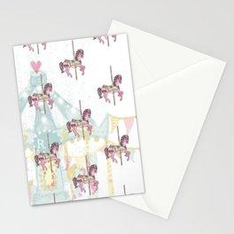 CAROUSEL Pop Art Stationery Cards