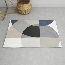 Beautiful art with circular geometric shapes Rug