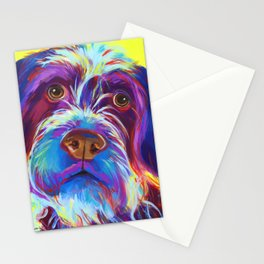 Wirehaired Griffon or Labradoodle Stationery Cards