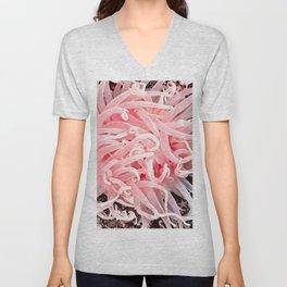 Anemone Flower Unisex V-Neck