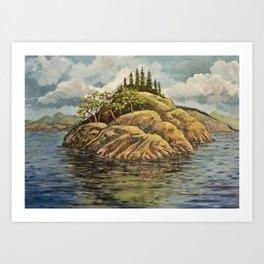 The Point Art Print