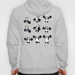 Olympic Lifting Panda Hoody