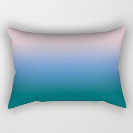 Morning Haze Fall 2017 Pantone Ombre Rectangular Pillow