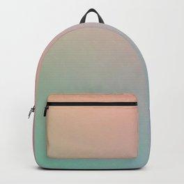 HOLOGRAPHIC - Minimal Plain Soft Mood Color Blend Prints Backpack