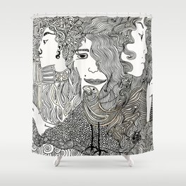 Ages Shower Curtain