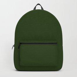Look Away Green Backpack