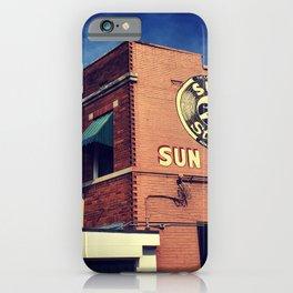 Sun Studio Records iPhone Case