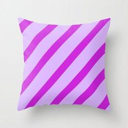 Royal Stripes Throw Pillow