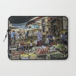 Going to the Market Laptop Sleeve
