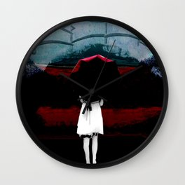 Heaven Is Perfect For Hell Wall Clock