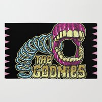 goonies Area & Throw Rugs featuring Pinchers of Peril - Goonies by Francesco Dibattista