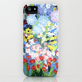 then comes spring iPhone Case