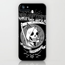 Grim Reaper Party Supplies iPhone Case
