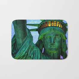 Statue of Liberty 4th of July tribute Bath Mat