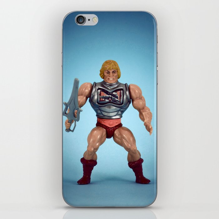 He-Man Battle Damage  iPhone Skin