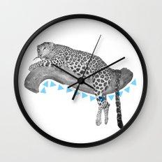 Going Wild Wall Clock