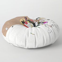 LOVE SONG OR SAD THING Floor Pillow