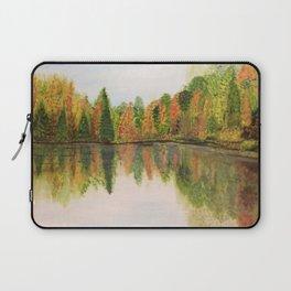 Fall at lake Laptop Sleeve