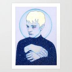 Alienated II - Sadman Art Print