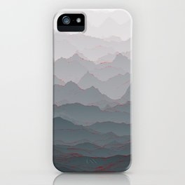 Mountains of Madness I iPhone Case