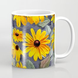 Black-eyed Susan Pattern Coffee Mug