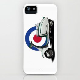 Mod scooter iPhone Case