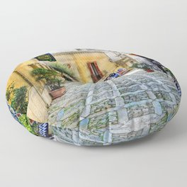 Erice art 3 Floor Pillow