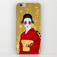Geisha R iPhone & iPod Skin