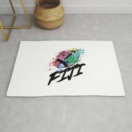 Football Fiji  TShirt Football Shirt Footballer Gift Idea  Rug