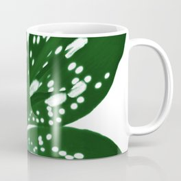 Lily Infrared In Green Coffee Mug