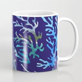 underwater blue corals Coffee Mug