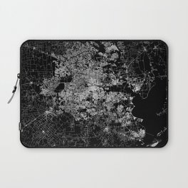 Houston map Laptop Sleeve