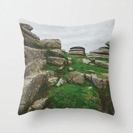 Rock Towers Throw Pillow