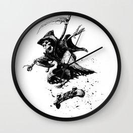 Death Skates! Wall Clock