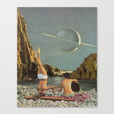 Serenade to Saturn Canvas Print