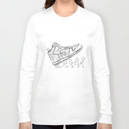 Giant shoe Long Sleeve T-shirt