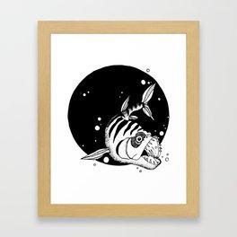 Bad Fish Framed Art Print