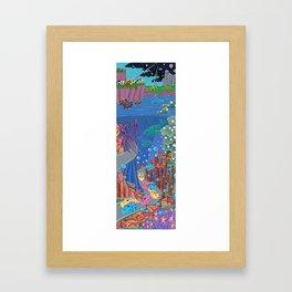 Underwater Parade Framed Art Print