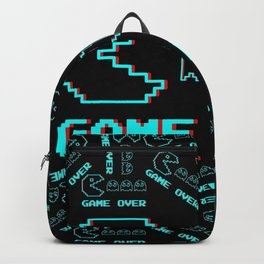 Game Over Pacman  Backpack