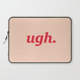 Statement Typography Pink Laptop Sleeve