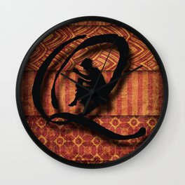 Quilters Wall Clock
