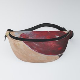 Wine Glass Fanny Pack