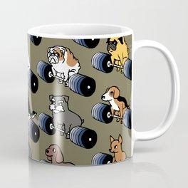 5 plates deadlift Puppies Coffee Mug