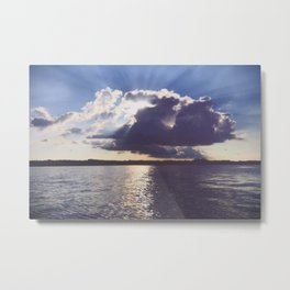 And we thought it was just an ordinary day Metal Print