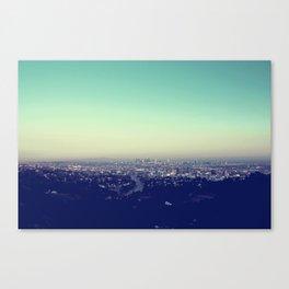 Above Los Angeles Canvas Print