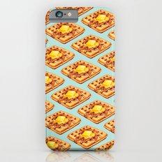 Waffle Pattern Slim Case iPhone 6