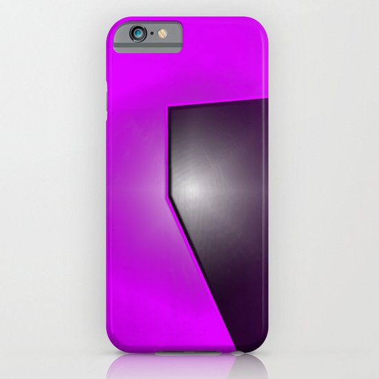PURPLE BLACK iPhone & iPod Case