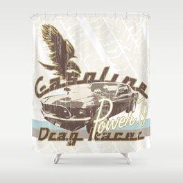 Vintage Car v.2 Shower Curtain