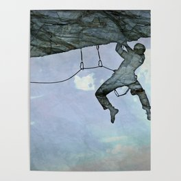 Climb On Poster